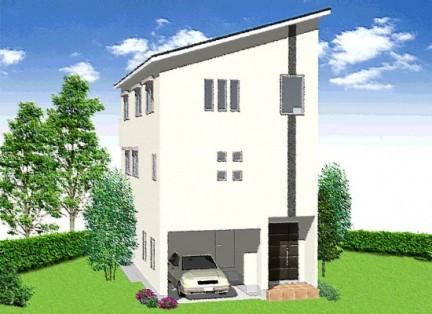 パナソニック耐震住宅工法テクノストラクチャーで建築した3階建ての家1